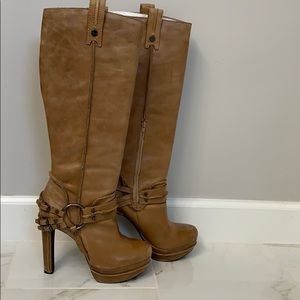 Jessica Simpson genuine leather knee high boot.